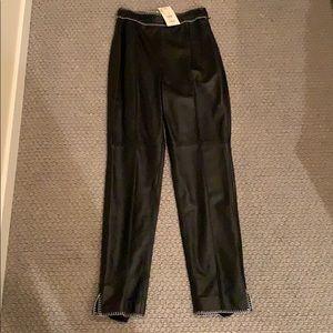 Escada genuine leather pants